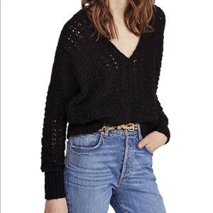 ⭐️ NWT Free People Best of You V Neck Sweater